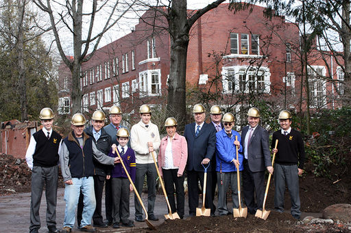Vancouver College Breaks Ground on New Middle School, Manrell Hall