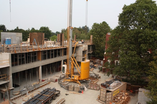 Manrell Hall - Summer Progress